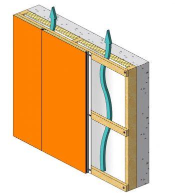 Isolation par l 39 ext rieur avec le panneau m myral pro for Isolant exterieur mur