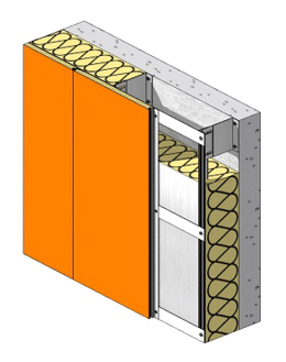 Non-ventilated cladding