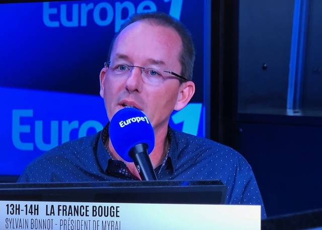 Sylvain Bonnot et Myral sur Europe 1 !
