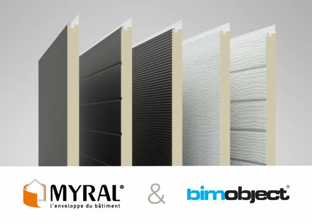 La solution Myral désormais disponible sur BIMObject