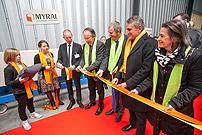Myral inaugure sa nouvelle ligne de production